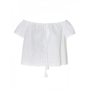 Daphne Top - White