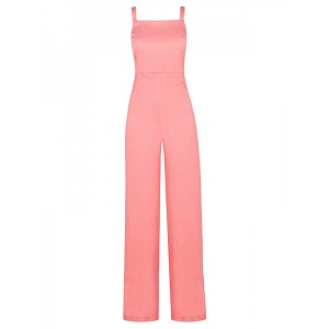 Jumpsuit - Salmon