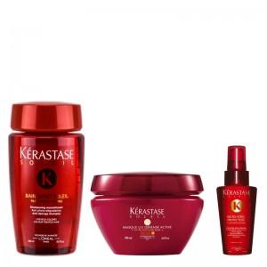 Soleil Shampoo + Masque + gift