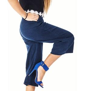 Zip Culotte Jean