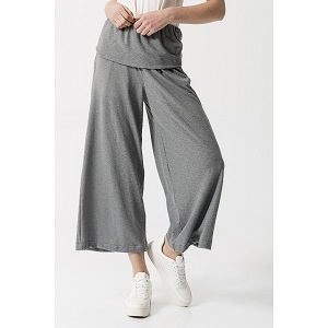 Zip Culotte Grey