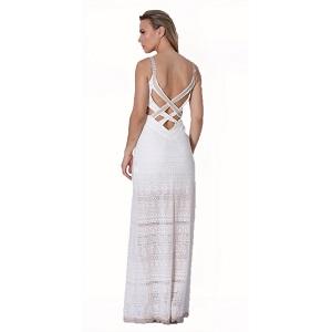 Maxi βραδινό φόρεμα