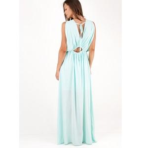 Maxi κρουαζέ φόρεμα