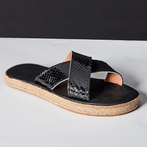 Proteas Python Sandals