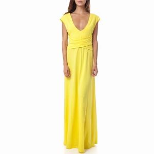 Κίτρινο TEA & ROSE φόρεμα