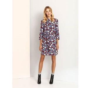 Shirt dress με prints