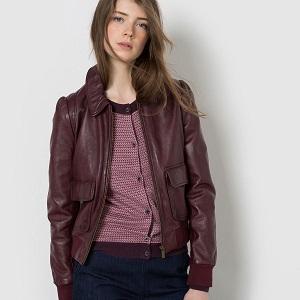 Biker jacket Δαμασκηνί
