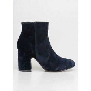 Velvet Boots Blue