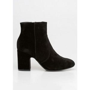 Velvet Boots Black