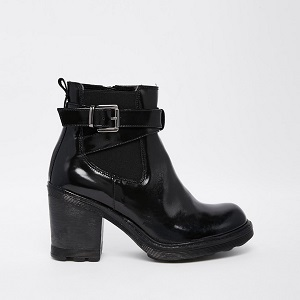 Chunky-Heel Boots Bronx
