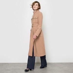 Παλτό σε μιλιτέρ γραμμή