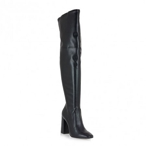 OVER KNEE BOOTS BLACK