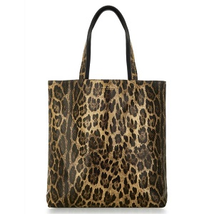Τσάντα animal print  AMELIE REVERSIBLE