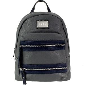 Backpack με εξωτερικά φερμουάρ