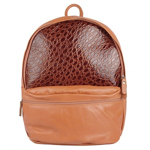 Backpack Taupe Croc