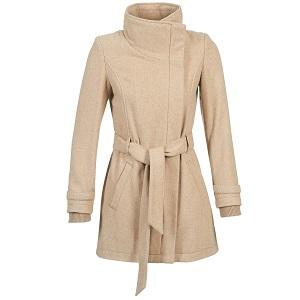 Παστέλ Beige παλτό