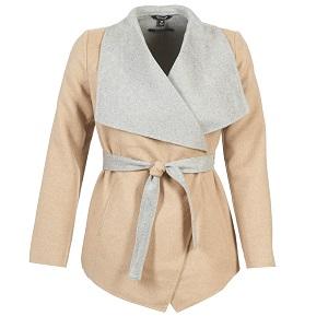 Παστέλ Beige / Grey  παλτό