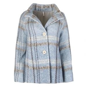 Παστέλ Γαλάζιο παλτό