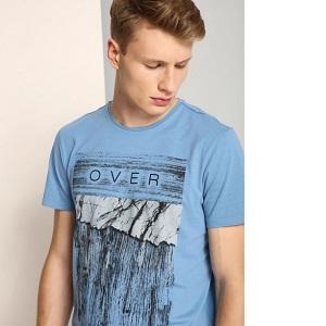 ανδρικο t-shirt με print