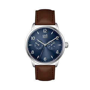 VISETTI Urban Legend Brown Leather Strap TI-626SKC