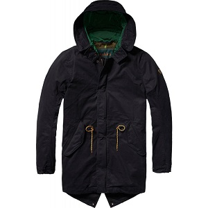 Scotch and Soda Teddy Lined Parka
