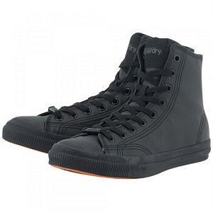 Superdry Trophy Series Leather Like High Sneakers