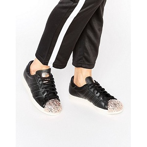 adidas Originals Black Superstar Trainers