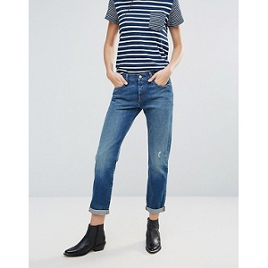 Levi's 501 CT Boyfriend Roll Up Jeans