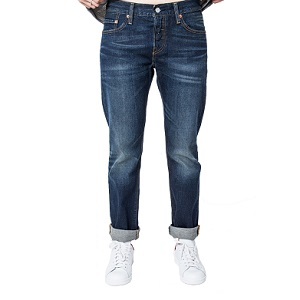 LEVIS Παντελόνι 501 CT JEANS FOR WOMEN SATU