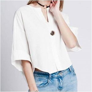 Metal Button Top