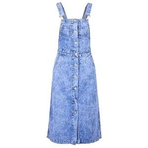 Γυναικείο Τζιν Φόρεμα Σαλοπέτα