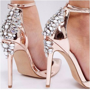 ASOS PALAIS Embellished High Heels