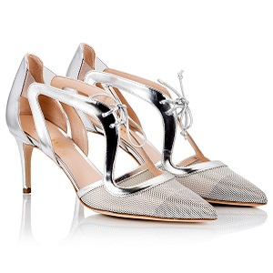 Fratelli Karida Laminated leather pumps