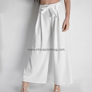 Ψηλόμεση παντελόνα με ζώνη