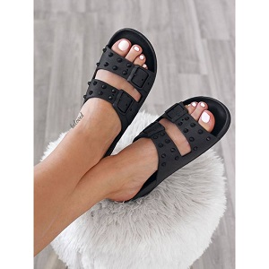 CACATOÈS SANDALS BLACK