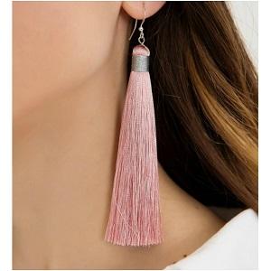 silk tassel pink