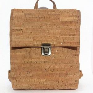 Τσάντα Πλάτης Φελλός Natural Cork backpack