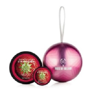 HOUSE OF HOLLAND LIMITED EDITION BUTTER BAUBLE STRAWBERRY