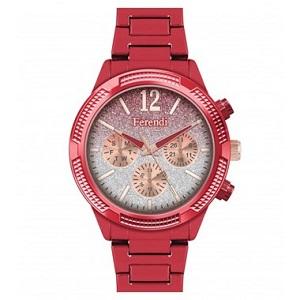 Ferendi Sparkle Red Stainless Steel Bracelet