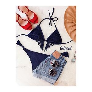 Dark Blue Bikini