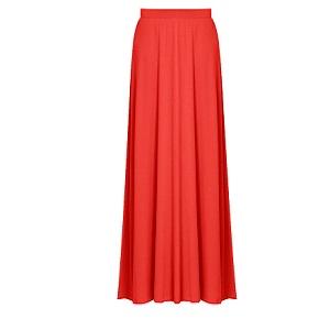 Maxi Κόκκινη Φούστα