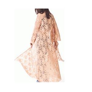 Lace Beige Kimono