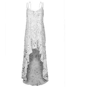 Crochet Dress Διάφανο