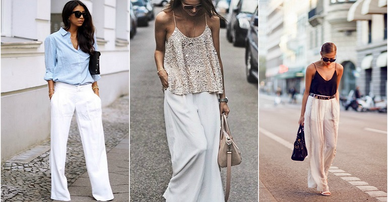 Ways to wear White Trousers
