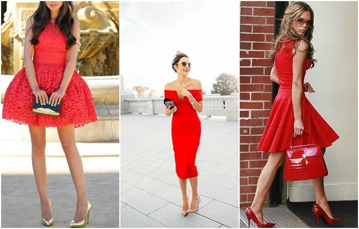 964a85a86783 Για να είμαι ειλικρινής ο συνδυασμός κόκκινου φορέματος