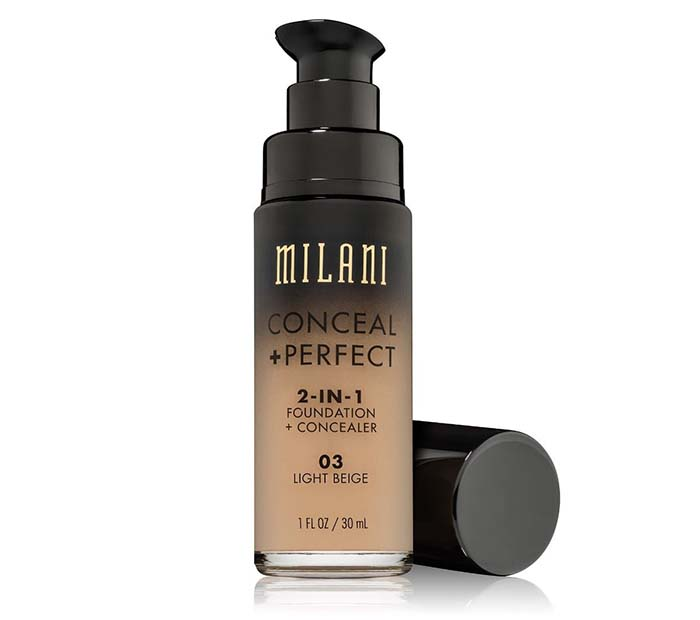 Conceal & Perfect 2 in 1 Liquid Foundation 30ml