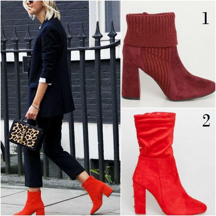 4d12a96f63a Πως θα φορέσεις τα κόκκινα μποτάκια; | Glafkis Dolce Vita