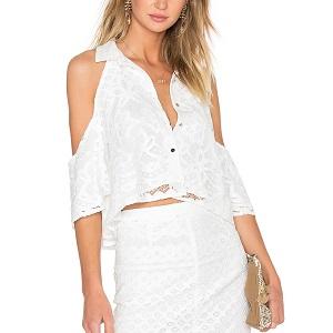 Λευκό πουκάμισο Minkpink
