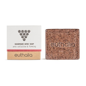 EUTHALIA-Handmade Wine Soap, Anti cellulite & Firming 100gr