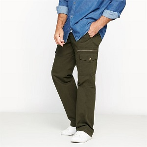 CASTALUNA FOR MEN Combat-Style Trousers